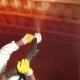 Innenbeschichtung eines Abwassertanks mit PURFLEX–X